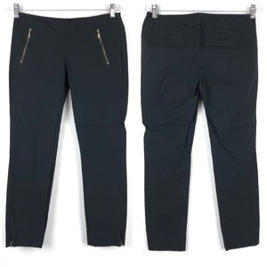 The Limited Exact Stretch Crop Zipper Pocket Pant